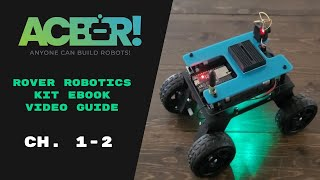 Getting started with the Rover! (Rover eBook Chapters 1 - 2) (ESP32 WS2812 / NeoPixel Tutorial)