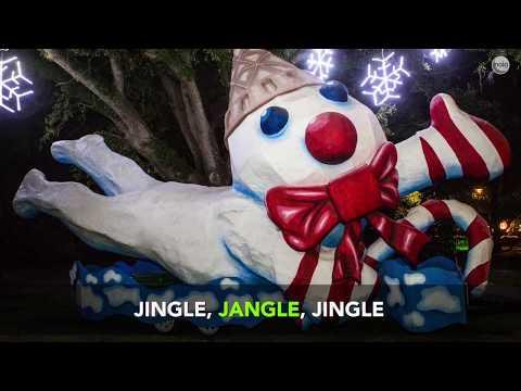 Jingle, jangle, jingle. Here comes Mr. Bingle!