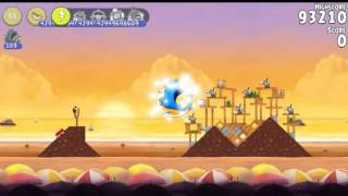 Angry Birds Rio Golden Beachball All levels