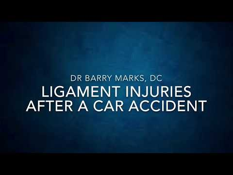 Ligament Injuries After a Car Accident