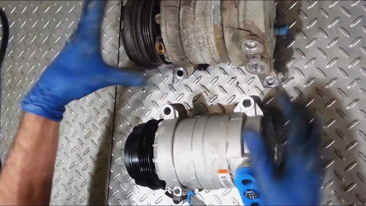 1999-2014 Chevy Silverado AC compressor, accumulator replacement