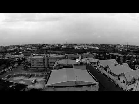 First shot of my DJI Phantom+ over my office in Lagos
