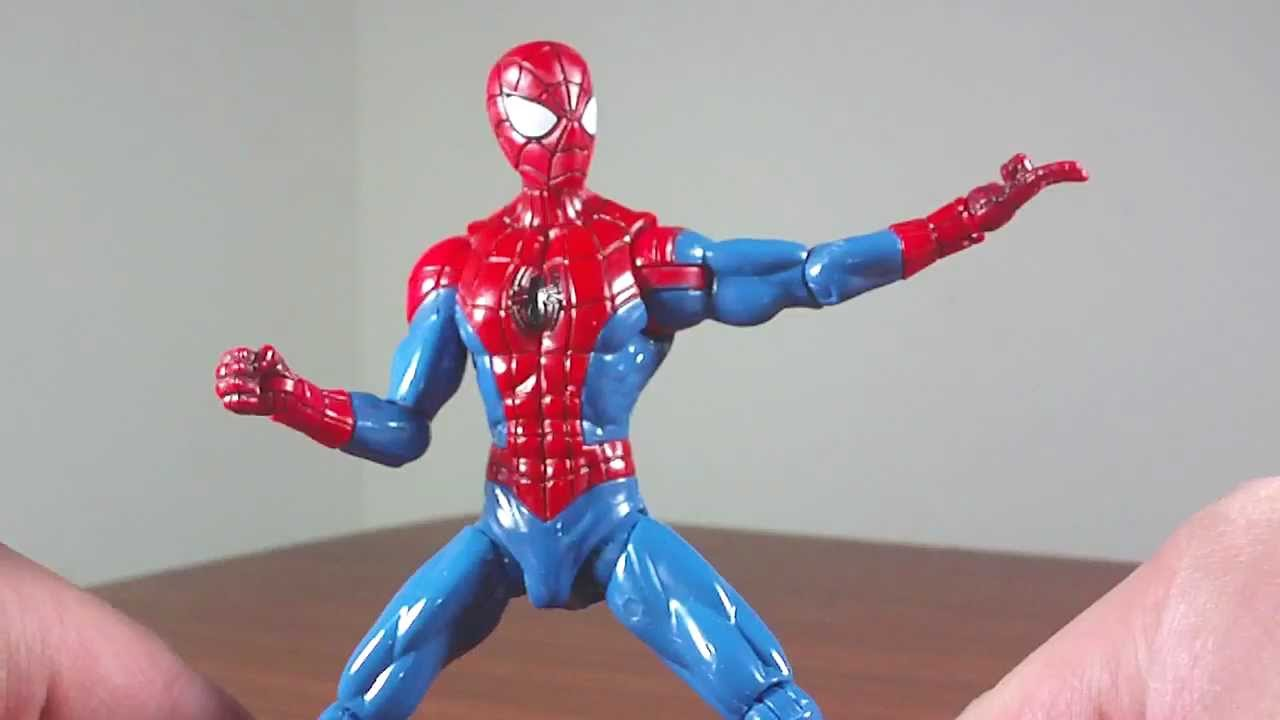 ultra strike spiderman toy review youtube