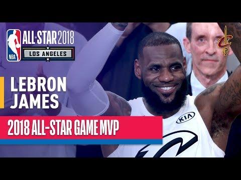 LeBron James MVP Performance   2018 NBA All-Star Game