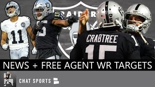 5 NFL Free Agent Wide Receivers Oakland Should Target + Raiders News: Marquel Lee & Trevor Davis