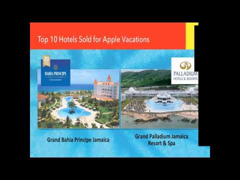 Travel Agent Training Webinar with Apple Vacations, Amstar and Secrets