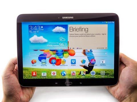 phones Samsung Galaxy Tab  inch id videos