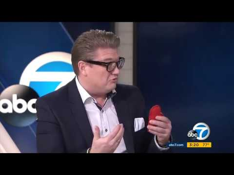 Ulrik Nerloe on Eyewitness News at 3 on KABC TV Los Angeles - HD