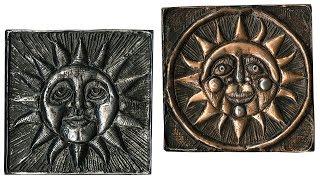 Renaissance Sun Tooling Foil Acrylic Resist - Project #176