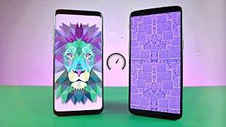 Samsung Galaxy S9 Plus vs OnePlus 5T - Speed Test! (4K)