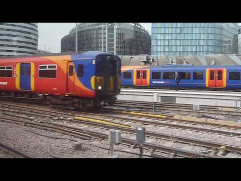 Trains at: Waterloo, 29 Aug 17