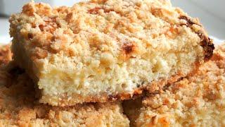 Королевская ватрушка - Рецепт пирога с творогом