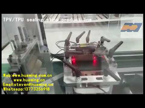 TPU TPV Seal Strip Extrusion Machine PVC Seal Strip Making ...