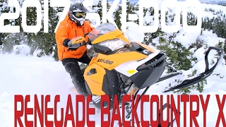 STV 2017 Ski-Doo Renegade Backcountry X