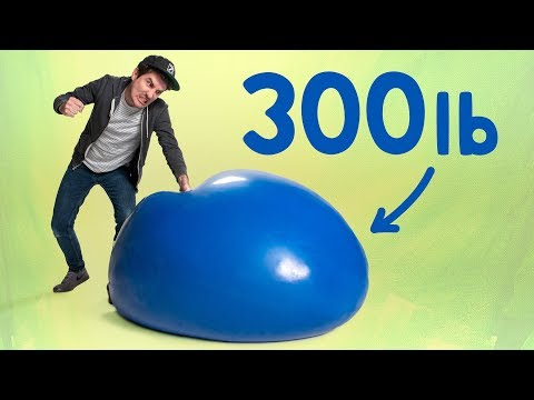 We Made the World's Largest Stress Ball!