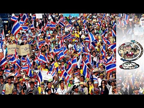 Thailand's Anti-Government Protesters Pushing To Crisis (2014)