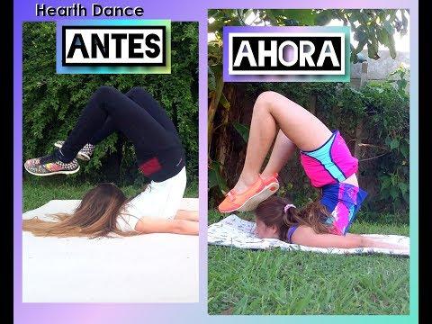 Progreso de flexibilidad a 2 meses. Hearth Dance