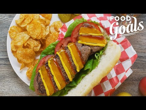 How to Make Dad a Father's Day Burger Tie | Food Network