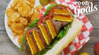 How to Make Dad a Father's Day Burger Tie   Food Network