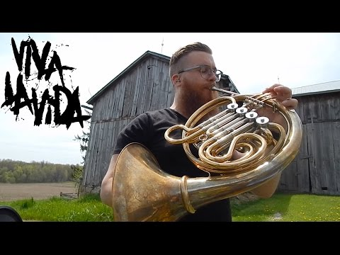 📯Viva La Vida // French Horn Loop Pedal