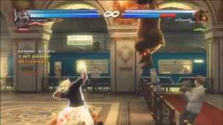 Tekken Tag 2- King & Armor King combo exhibition #2