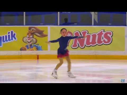 Elizaveta Kulikova(2008), SP, 2019.10.14«Мегаспорт» Autumn Championships