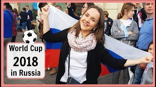 Vlog in Russian 15. ⚽🇷🇺 FIFA World Cup 2018 in Russia. St. Petersburg