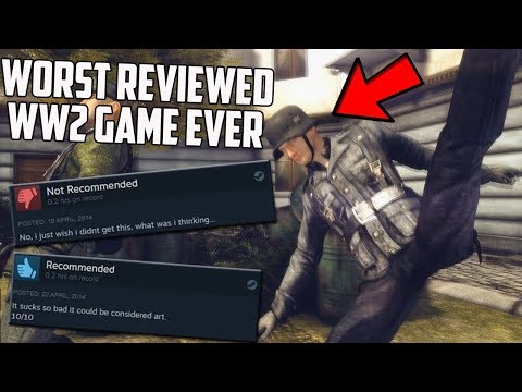 I Played The Worst Reviewed WW2 Game Ever On Steam