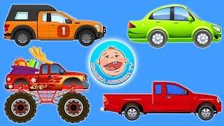 Машинки - 4 истории про виды транспорта. 4 - серия