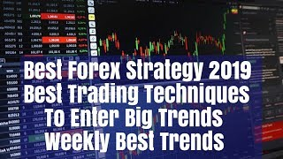 Best Forex Strategy 2019 Trade Big Trends 500 Pip Trades Weekly Review 22/01