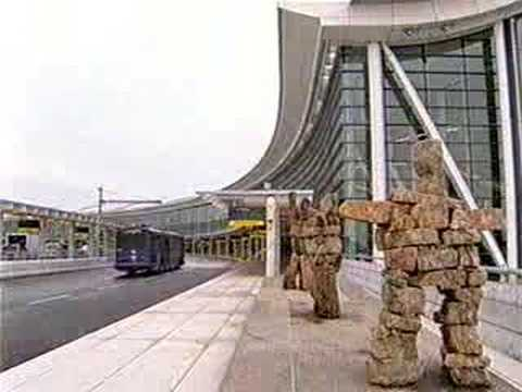 AIR CANADA TORONTO PEARSON Terminal 1 welcome video