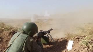 «Легкие» мотострелки, переброшенные из-под Самары, на учениях в Таджикистане