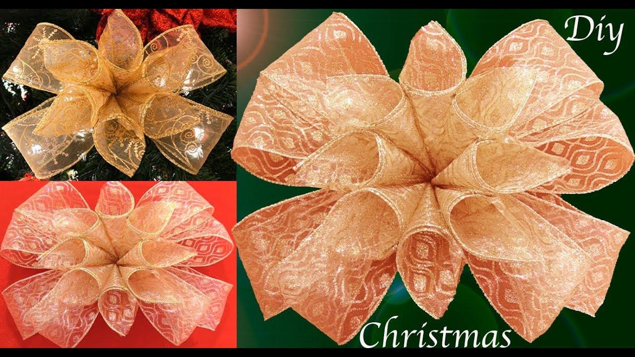 Como hacer mo os para decorar el rbol de navidad youtube - Como decorar un salon en navidad ...