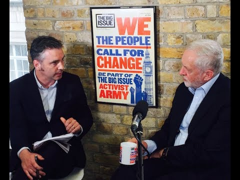 The Big Issue speaks to Jeremy Corbyn – full interview