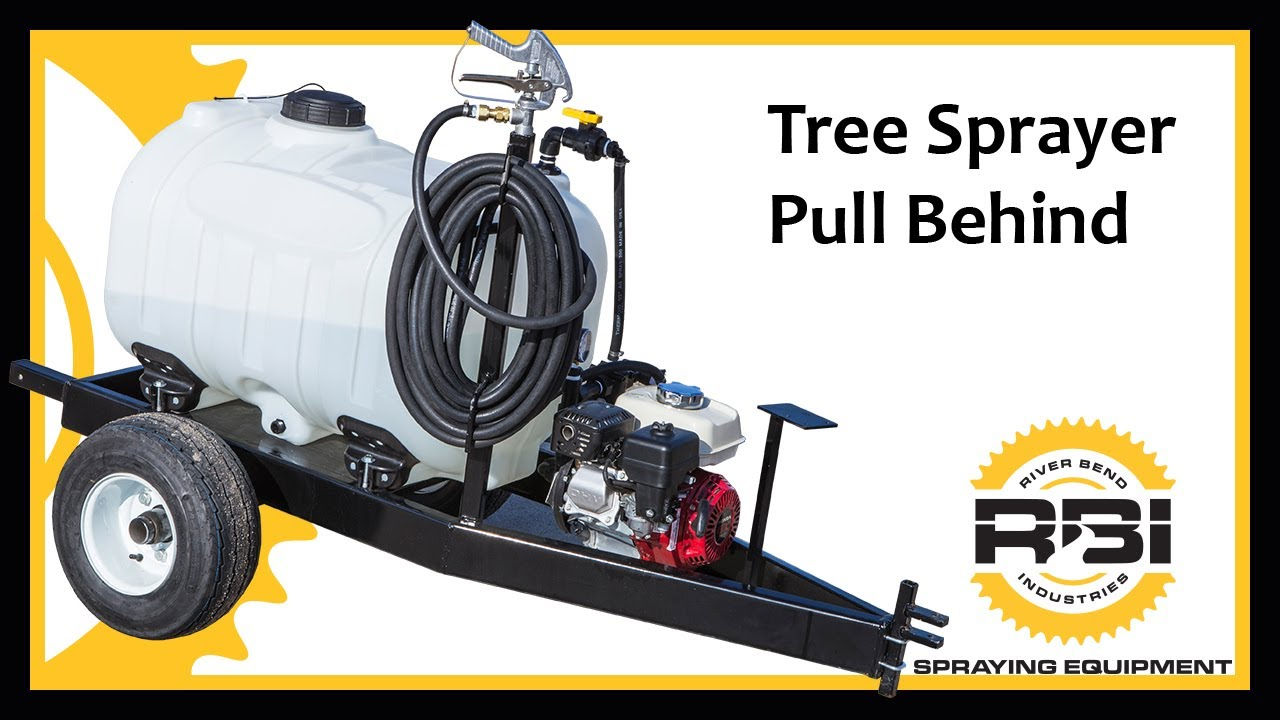 Tree Sprayer Pull Behind 60 Gallon River Bend