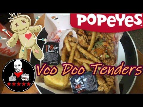 Popeyes VooDoo Tenders Review