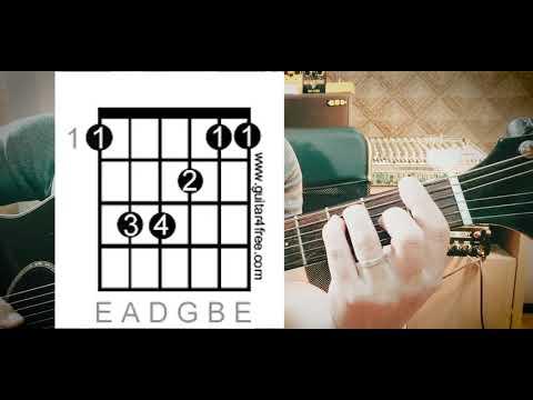 สอนกีตาร์มือใหม่ เริ่มจาก 0 แบบจับมือเล่น EP.18 ฝึกเปลี่ยนคอร์ด A/F/D มือใหม่