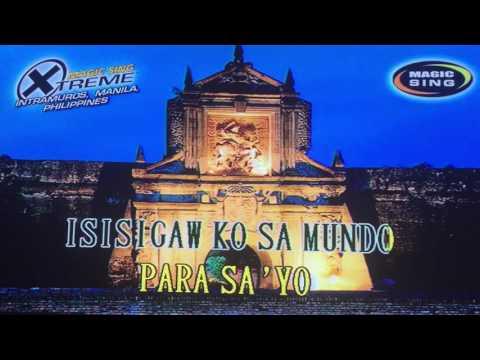 Para sa 'yo ang laban na 'to by Manny Pacquiao karaoke (lyrics)