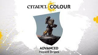 How to Paint: Hazard Stripes