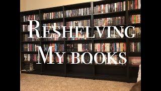Reshelving My Books