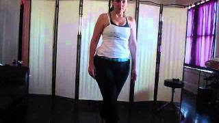 Stretch for Outer Thigh, Hip & Hamstrings.wmv