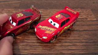 Cars 3 Die-Cast Unboxing Rust-Eze Lightning McQueen