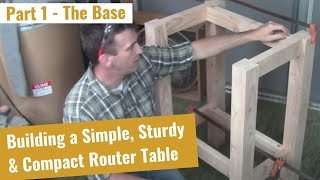 How To Build A Router Table Part 1 Of 2 - The Base