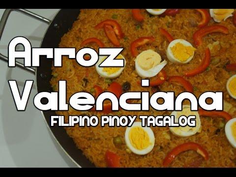 Paano magluto Arroz Valenciana Recipe - Filipino Paella Tagalog Pinoy