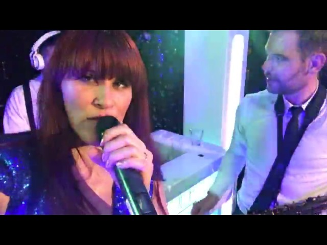 Erica Greenfield live with DJ Victor and Rolf and Tomas Delfgaauw on saxophone