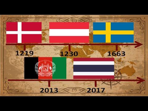 All The Flags Of The World : Flags By Year Of Introduction Since 1219 (Timeline)