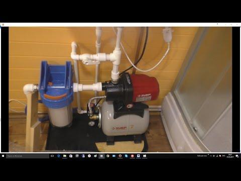 Монтаж водопровода, часть 1, летний вариант.