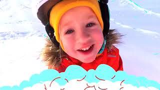 Invierno | Canción Infantil | Canciones Infantiles con Katya y Dima