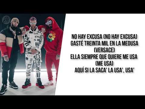 Medusa – Jhay Cortez, Anuel AA, J. Balvin (LETRA)
