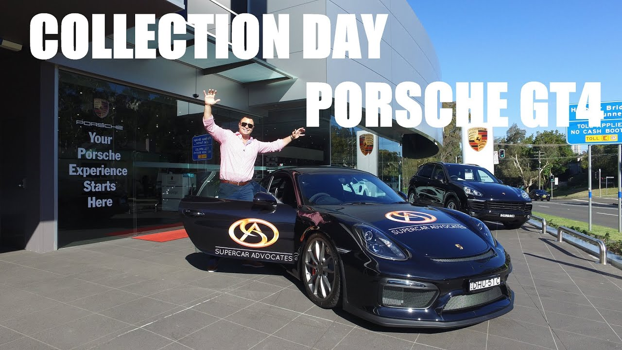 Collection Day Porsche Cayman Youtube
